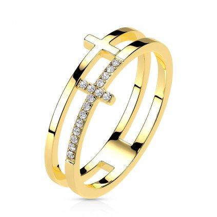 Dámsky prsteň z chirurgickej ocele MAEVE 1