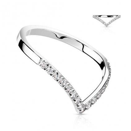 Dámsky prsteň z chirurgickej ocele MALLORY 1