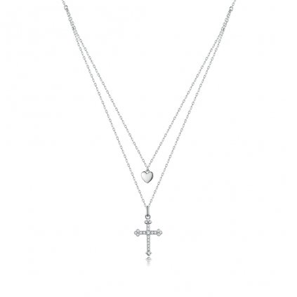 Dámsky strieborný náhrdelník DORRIS