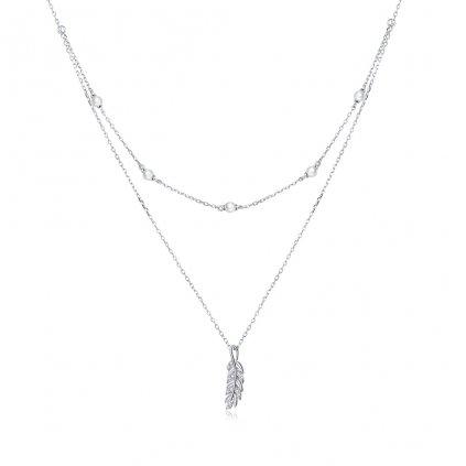 Dámsky strieborný náhrdelník SHARON.