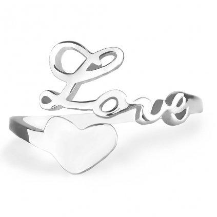 Dámsky strieborný prsteň HEATHER