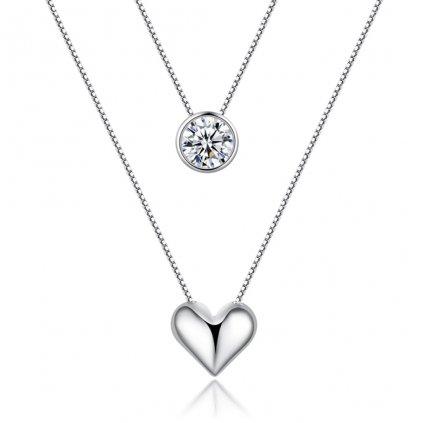 Dámsky strieborný náhrdelník TREASURE 1