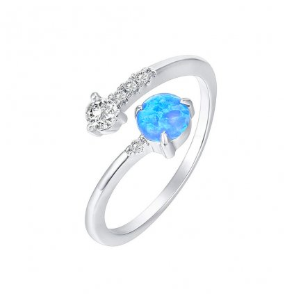 Dámsky strieborný prsteň PROMISE