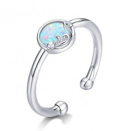 Dámsky strieborný prsteň SAGE 1