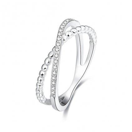 Dámsky strieborný prsteň MARIETTA 1