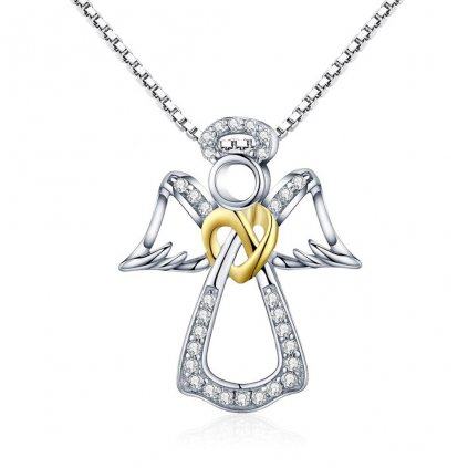 Dámsky strieborný náhrdelník ANGIE 1