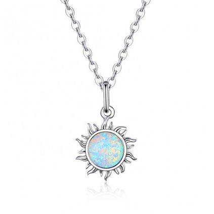Dámsky strieborný náhrdelník SUNNY 1