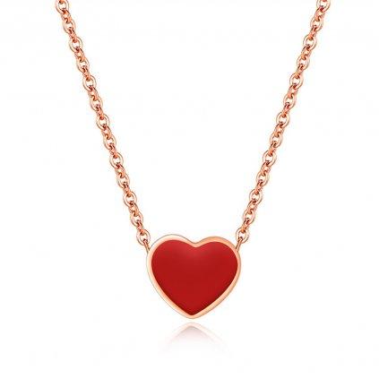 Dámsky náhrdelník z chirurgickej ocele HEART 1
