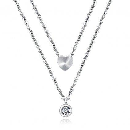Dámsky náhrdelník z chirurgickej ocele AMELIE 1