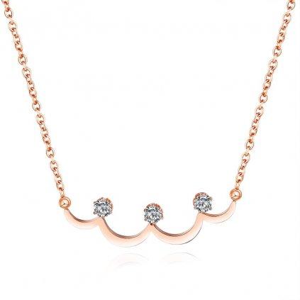 Dámsky náhrdelník z chirurgickej ocele FAYE 1