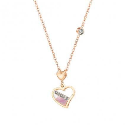 Dámsky náhrdelník z chirurgickej ocele GEMMA 1
