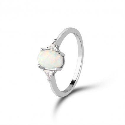 Dámsky strieborný prsteň SAPPHIRE 1