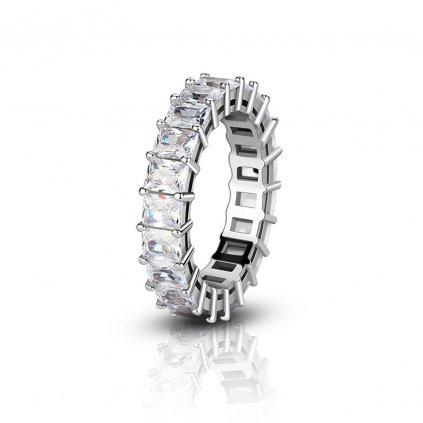 Dámsky strieborný prsteň BRIA