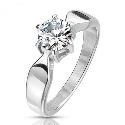 Dámsky prsteň z chirurgickej ocele ELIZABETH 1