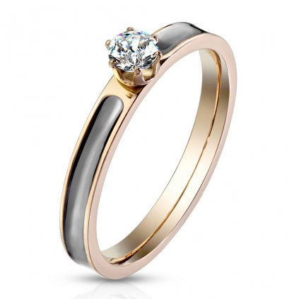 Dámsky prsteň z chirurgickej ocele EVERLY 1