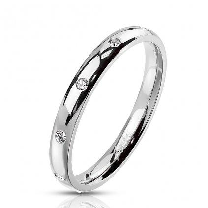 Dámsky prsteň z chirurgickej ocele FLORETTE 1