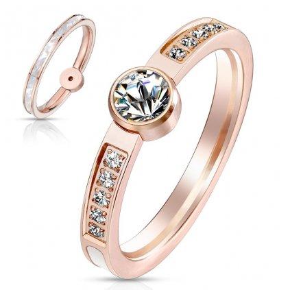 Dámsky prsteň z chirurgickej ocele MAGGIE 1