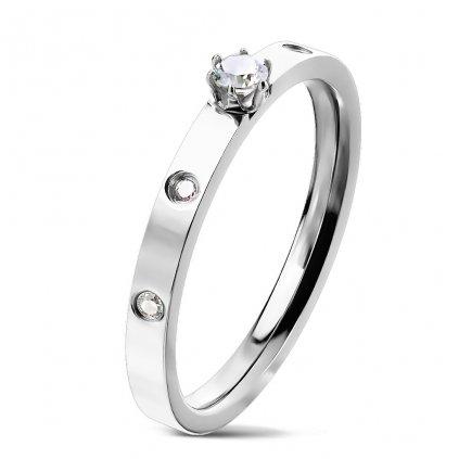 Dámsky prsteň z chirurgickej ocele NAYA 1