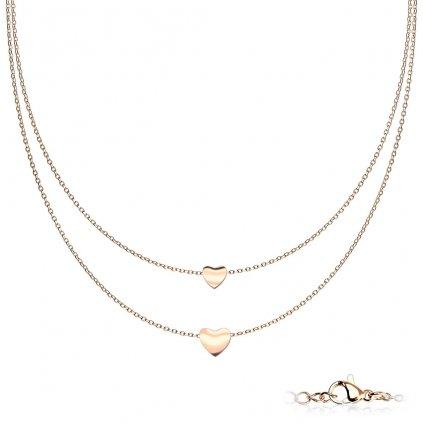 Dámsky náhrdelník z chirurgickej ocele MICHELLE 1
