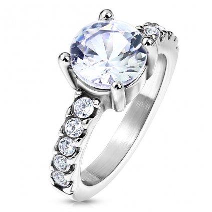 Dámsky prsteň z chirurgickej ocele LACEY 1