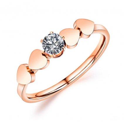Dámsky prsteň z chirurgickej ocele NOELIA 1