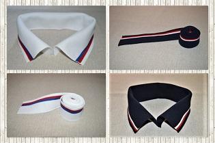 Límečky  Límečky ze 100% bavlny , 50% bavlny 50% polyesteru a 100% polyesteru , které můžete kombinovat s manžetami a použít na mikiny Polo trika , sportovní trika šaty aj... Výběr z mnoha barev a odstínů .