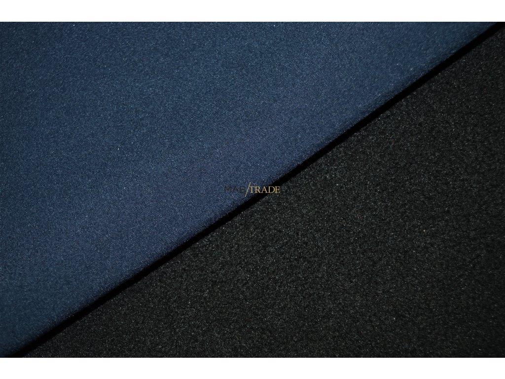 SOFTSHELL s FLEECEM tm. Modrá/černá Kód 7006-2208