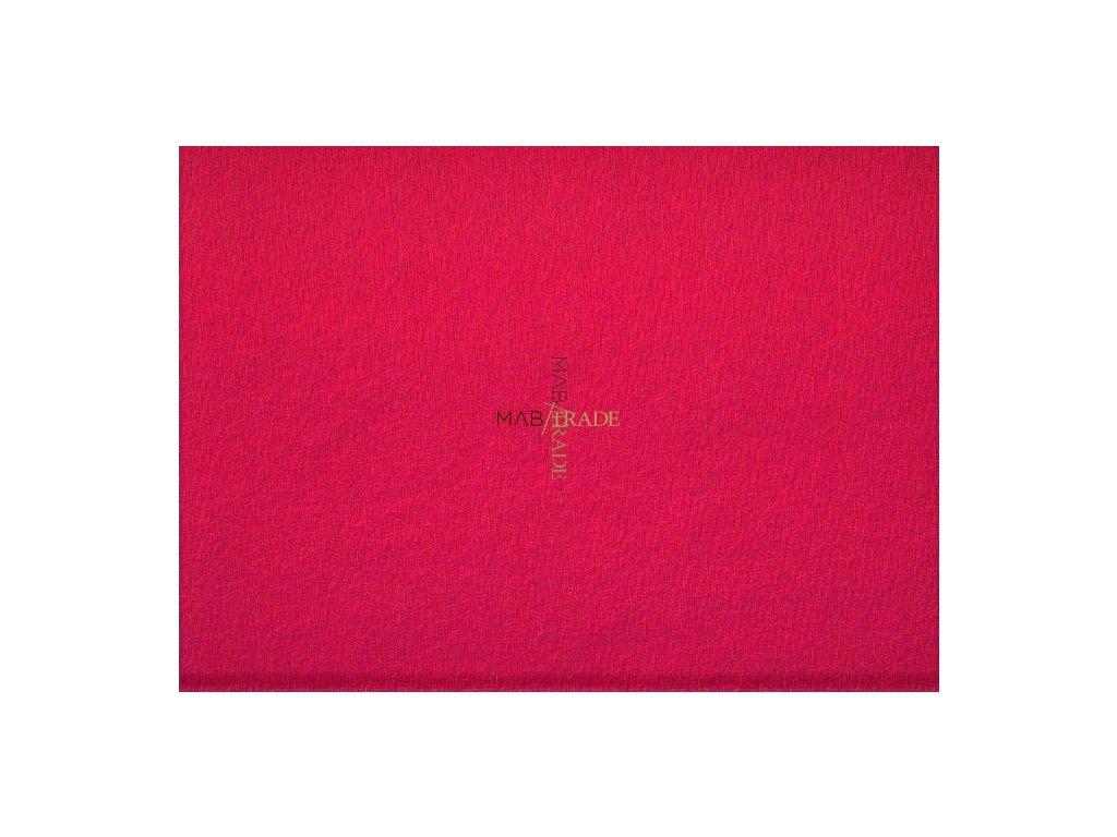 ELASTICKÁ TEPLÁKOVINA s polyesterem Fuxia Kód 4276-1002