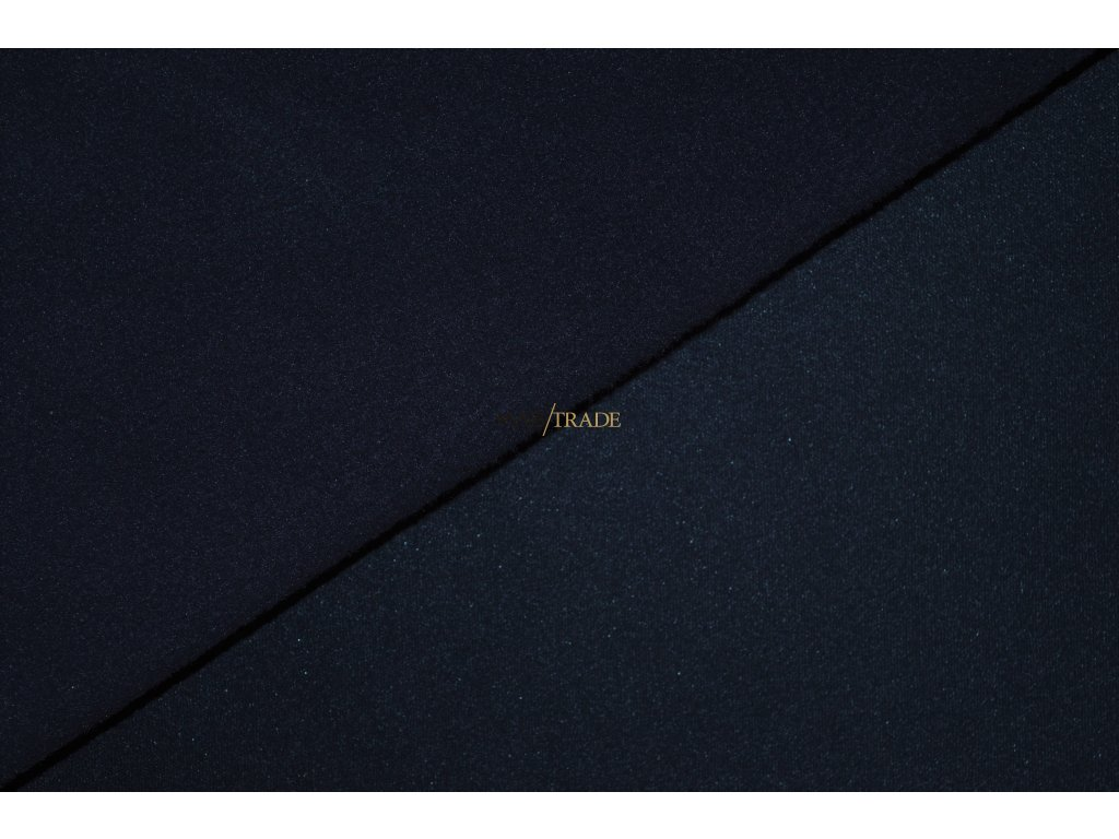 Teplákovina Ba/Pes počesaná tmavě Modrá Kód 4220-88126