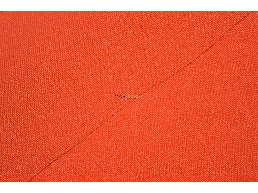 Tkanina Rongo Oranžová Kód 3704-9005