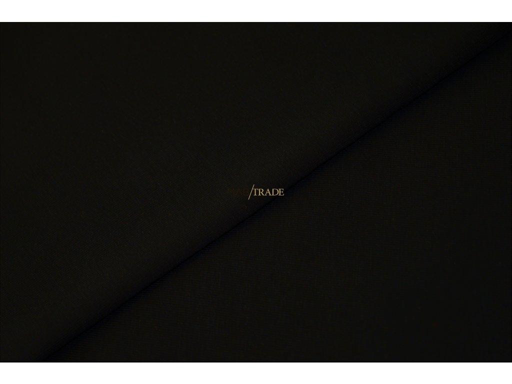 Jednolíc 100% Bavlna Černá Kód 2800-4002