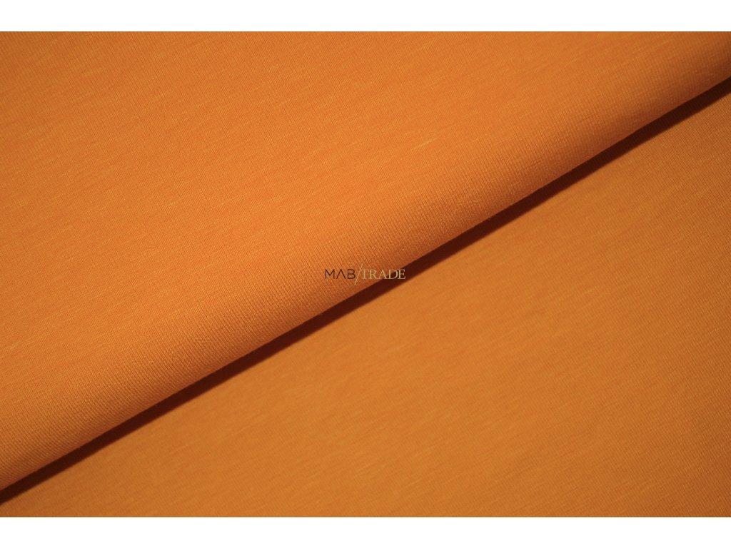 RIB 1x1 hladký Tmavě žlutá Kód 6201-0545