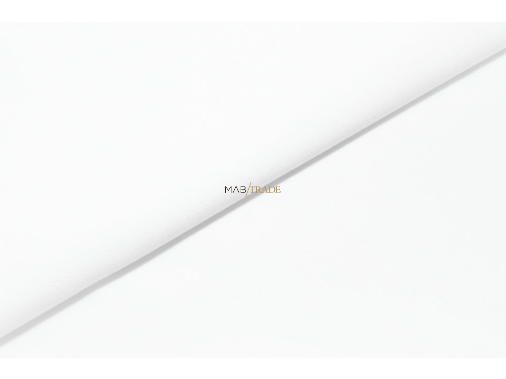 Jednolíc 100% Bavlna Bílá Kód 2200-0101