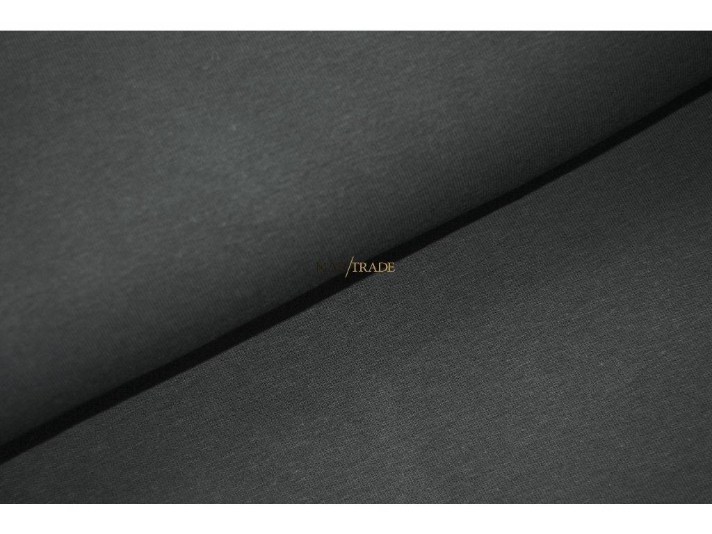 Jednolíc 100% Bavlna Tmavě šedá Kód 2200-3002