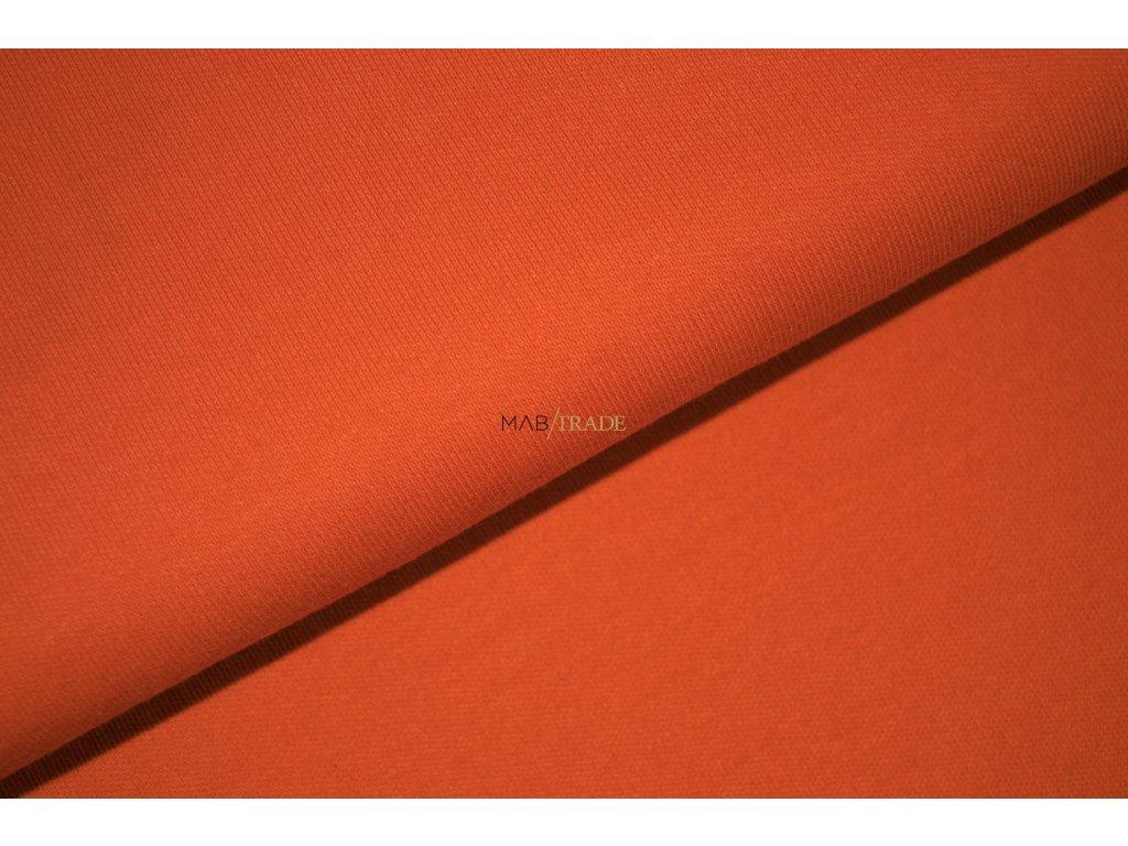 Oboulíc 100% Bavlna Oranžová Kód 1200-0602