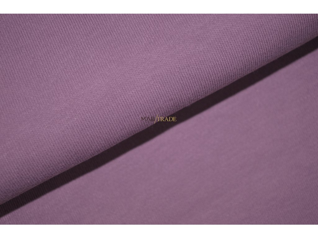 Oboulíc 100% Bavlna Světle fialová Kód 1200-15246
