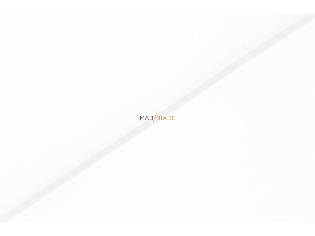 Bavlněný úplet - RIB 1x1 hladký Bílá Kód 6201-0101