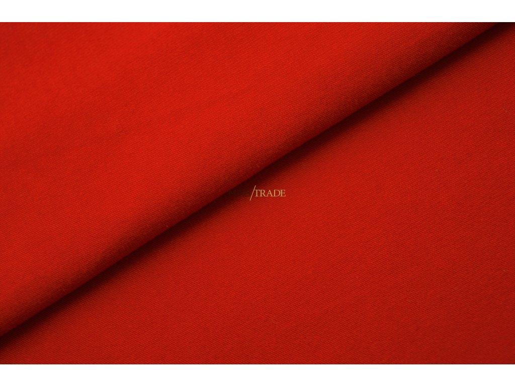 Elastická teplákovina Červená Kód 4216-1101/C