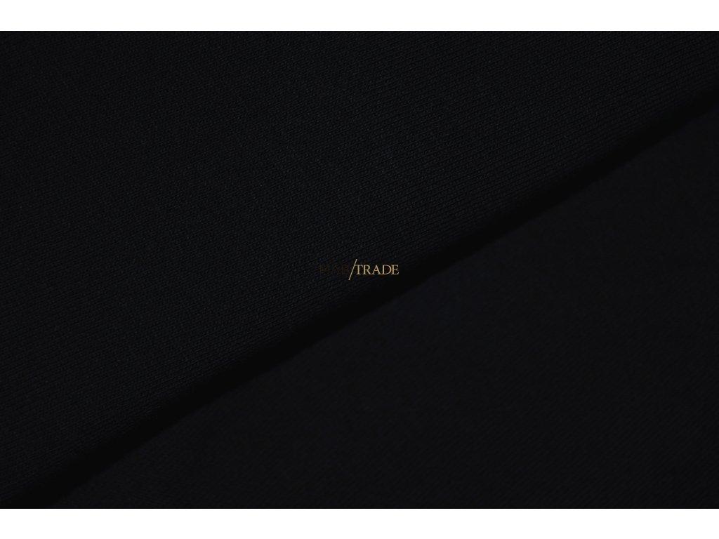 Elastický jednolíc BAMBUS Černá Kód 2610-4002