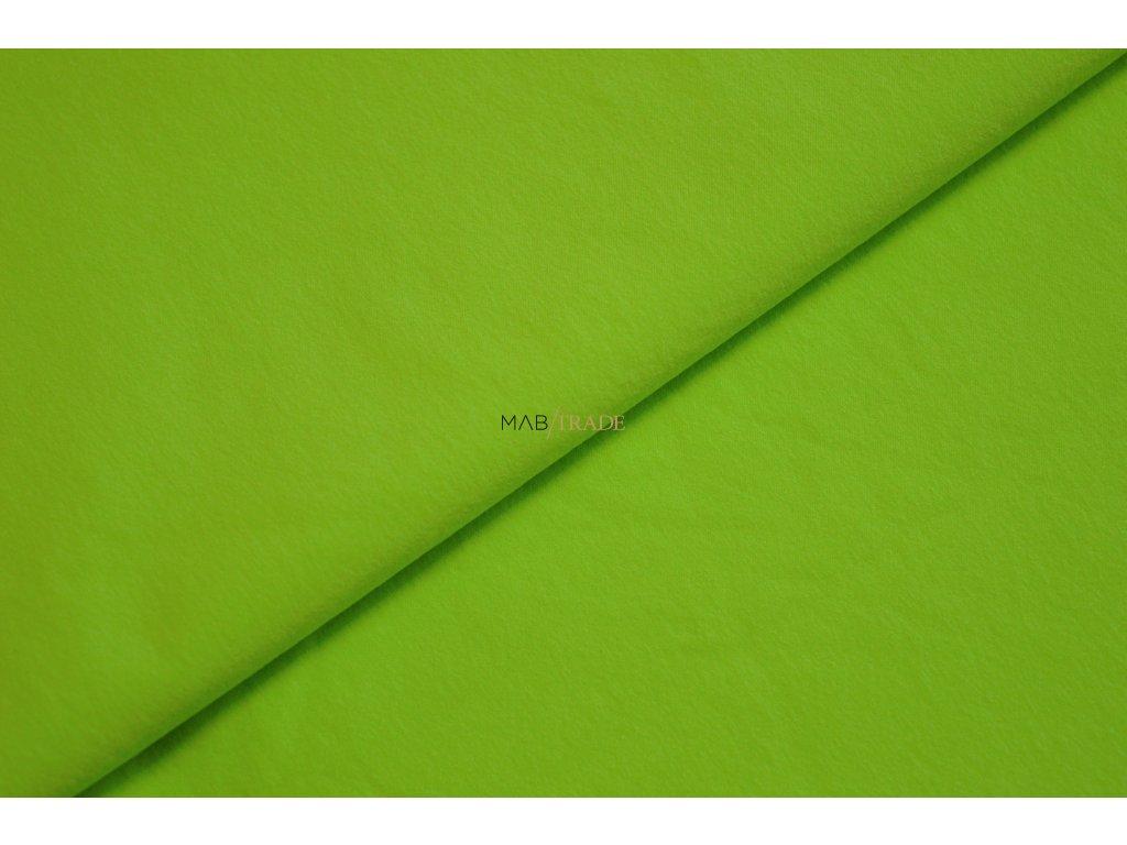 Funkční textílie  - plášťovka - SILVER Neon Zelená Kód 7021-2587