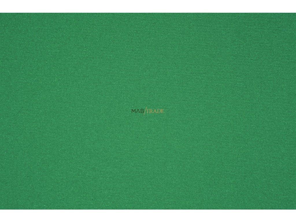 RIB 1x1 hladký Zelená Kód 6201-1403