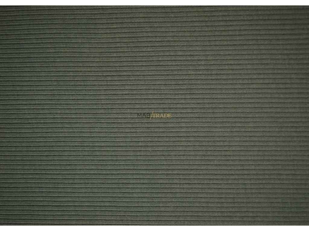 RIB 2x1 Hrubý Khaki  Kód 6222-2802