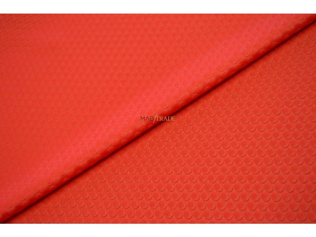 Tričkovina Bublinky Červená Kód 5043-1082