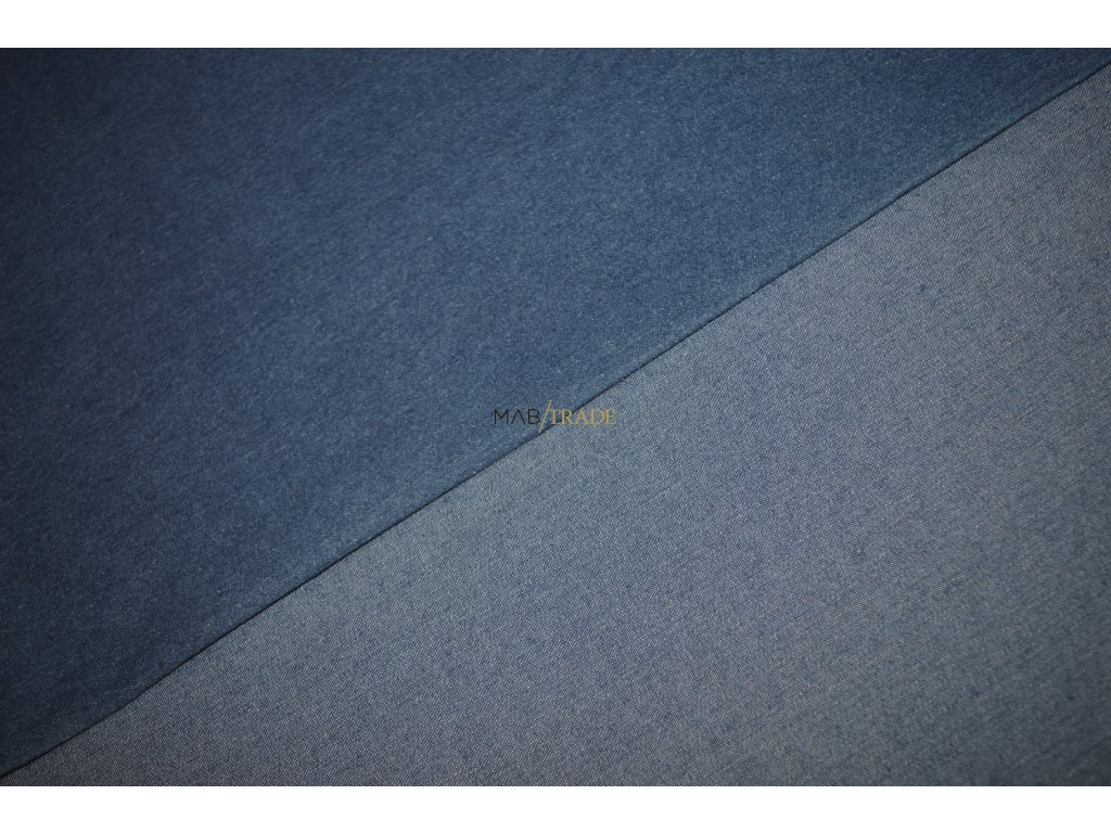 JEANS streč tkanina sv. Modrá Kód 7050-2003