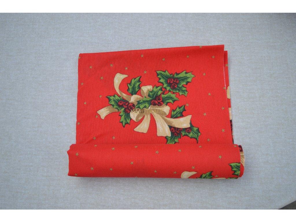 Bavlněné plátno Loneta Vánoce Kód 1081-1020