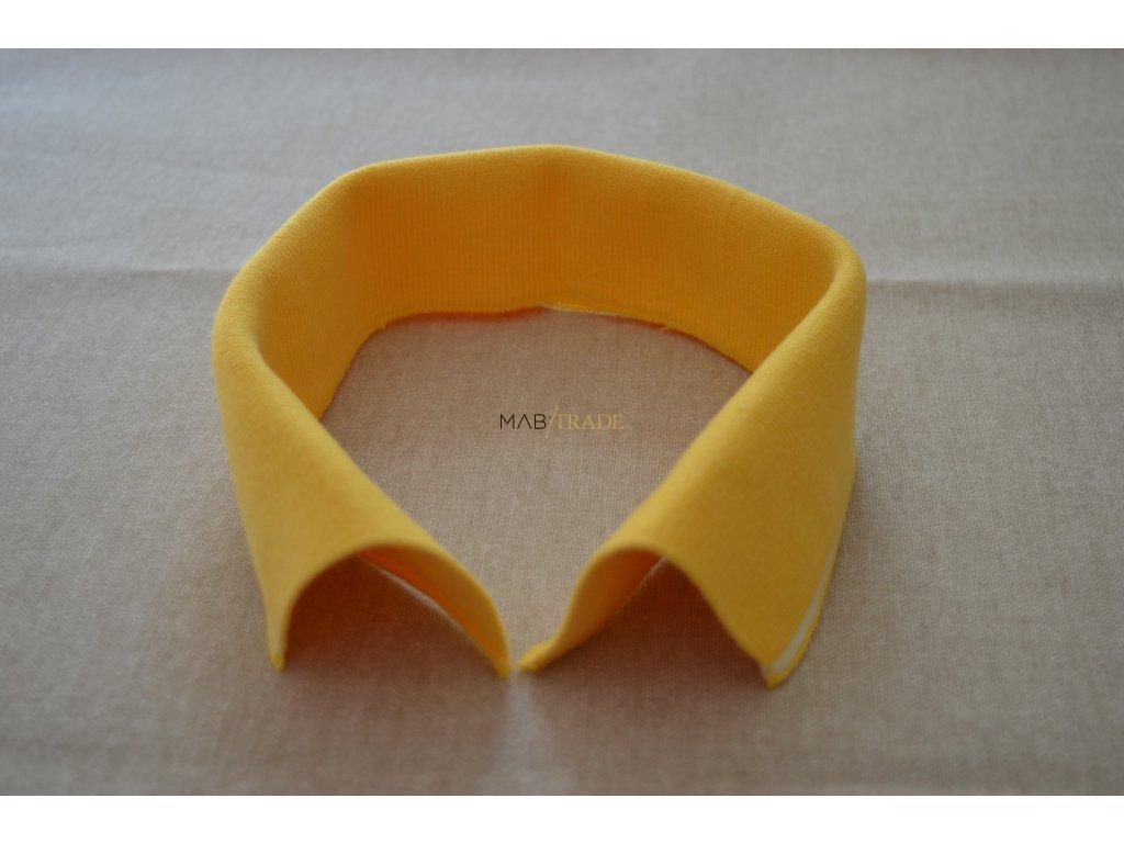 Límeček 100% Ba žlutý s bílým pruhem Kód 0000-0503/P