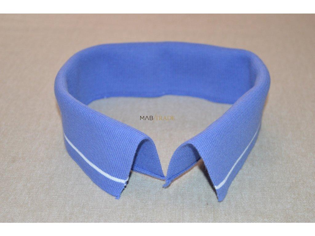 Límeček 100% Ba  modrý bílý pruh Kód 0000-19831/P