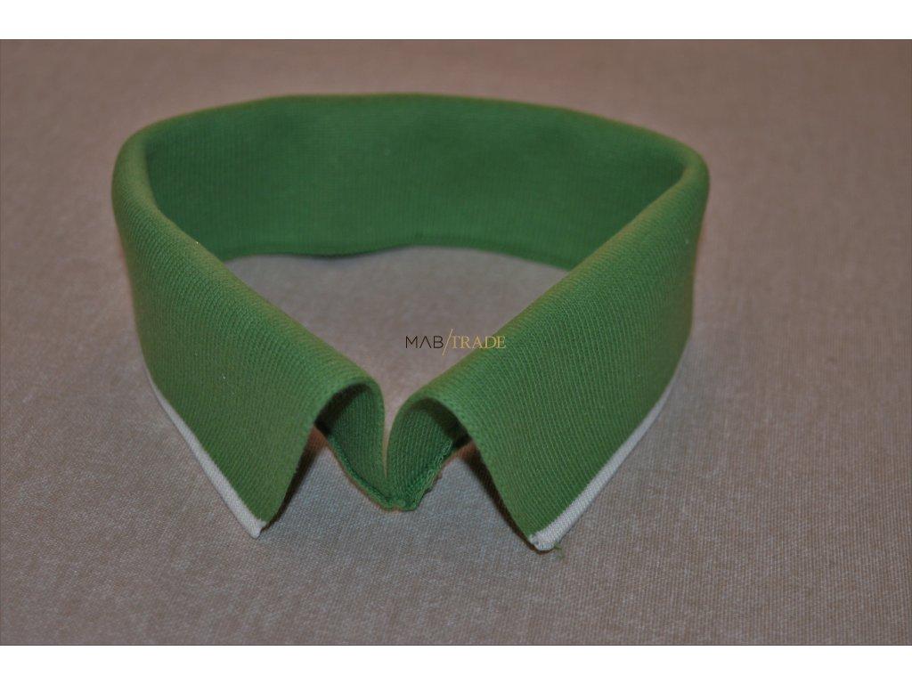 Límeček 100% Ba zelený bílý pruh Kód 0000-14285/P