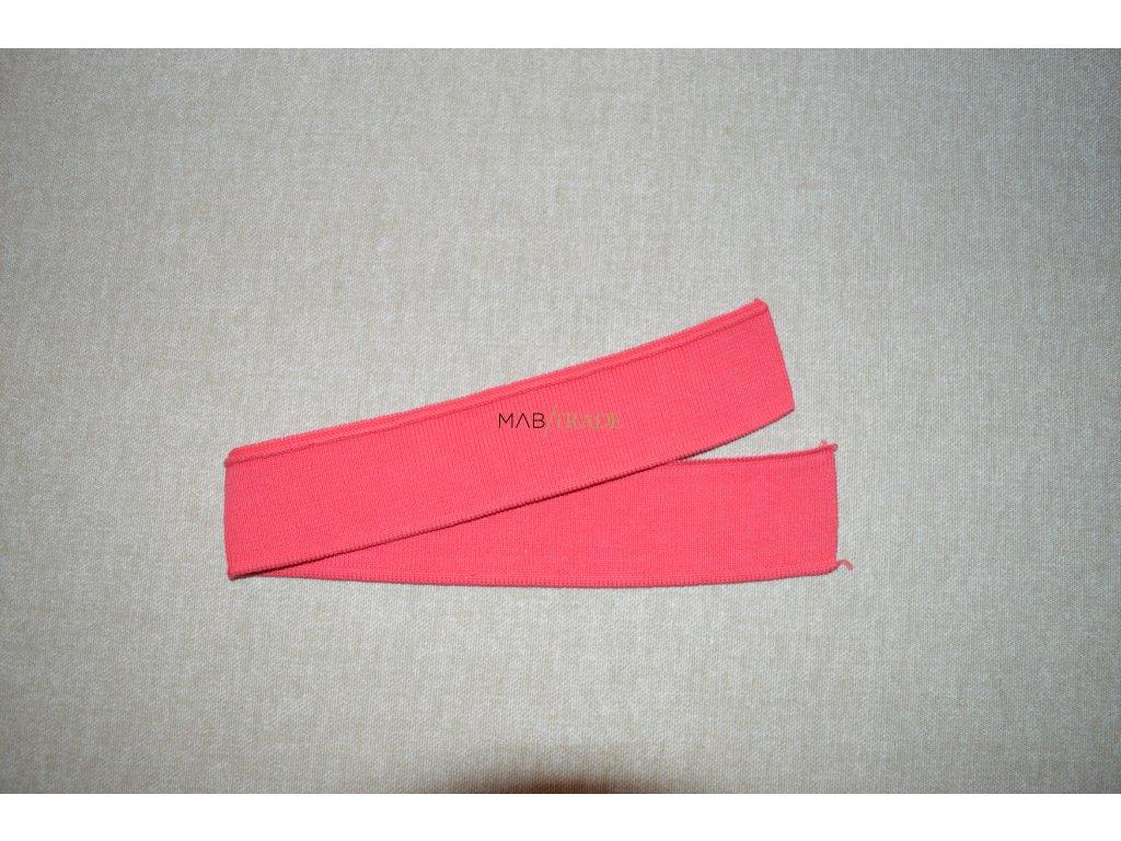 Manžeta  pár na dlouhý rukáv korálová Kód 0005-0803/18