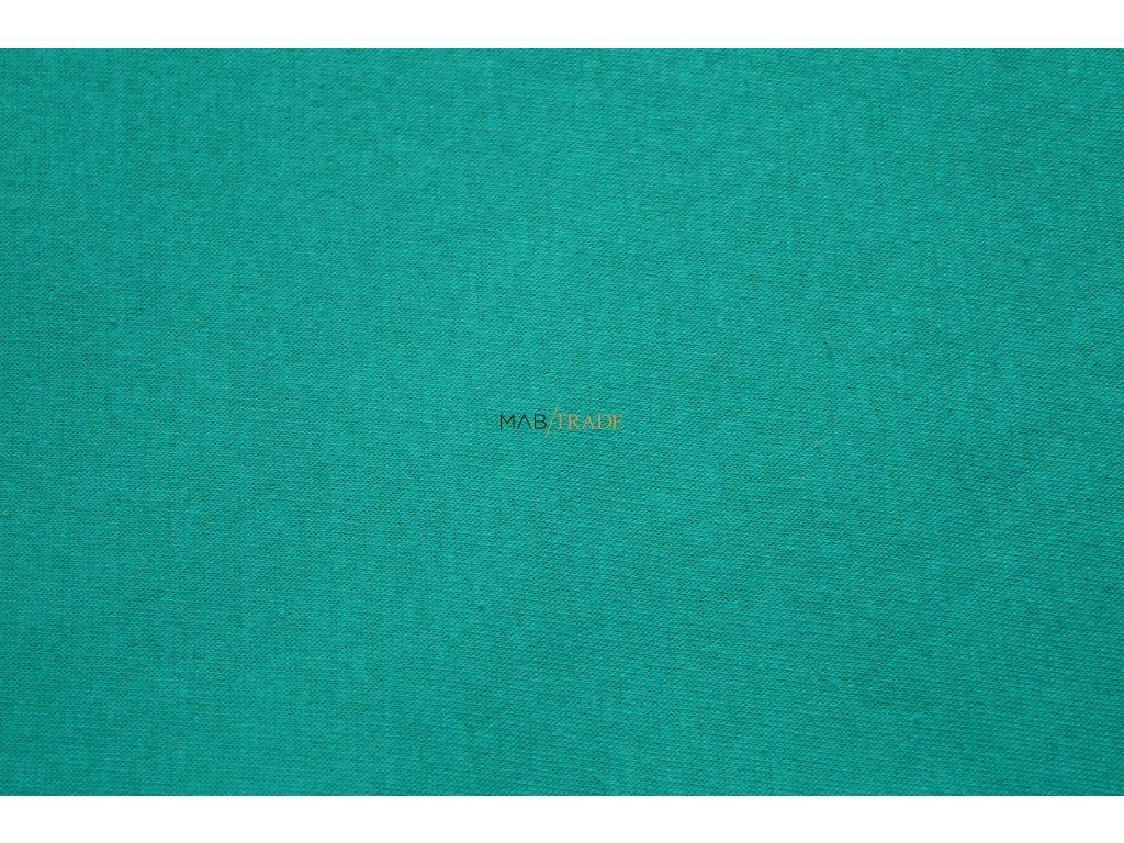 Teplákovina Ba/Pes počesaná Smaragdová Kód 4220-88758